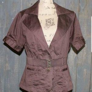 🌸 Miss Ashley Belted blouse jacketX49